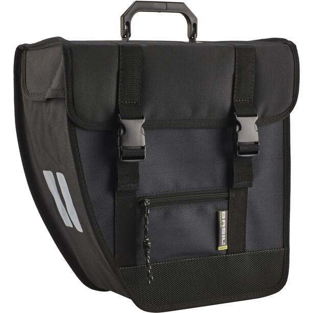 Basil Tour Left Single Pannier Bag 17l Svart