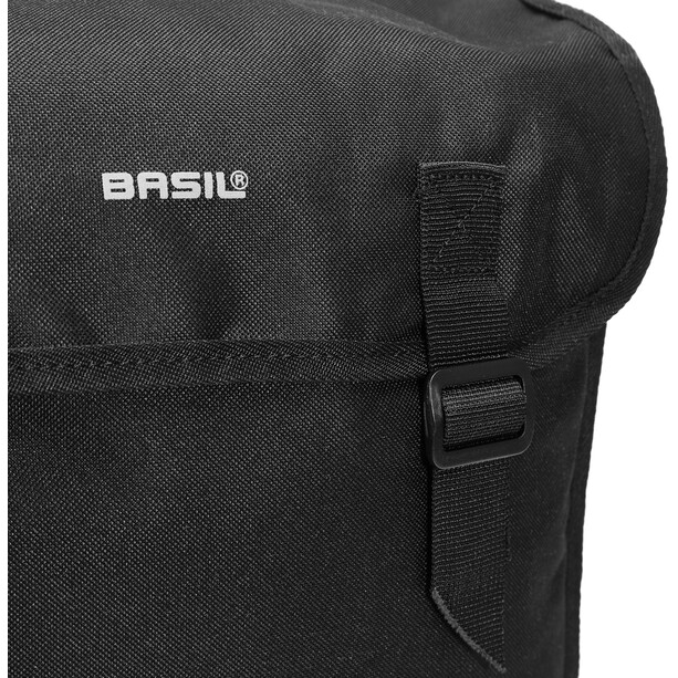 Basil Mara Doppel-Gepäckträgertasche 26l schwarz