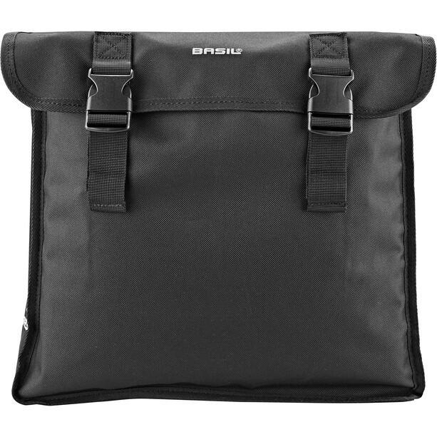 Basil Mara XL Double Pannier Bag 35l, noir