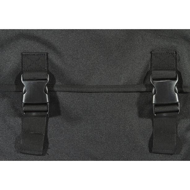 Basil Mara Doppel-Gepäckträgertasche 3XL 52l schwarz