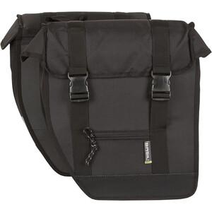 Basil Tour Doppel-Gepäckträgertasche XL schwarz schwarz