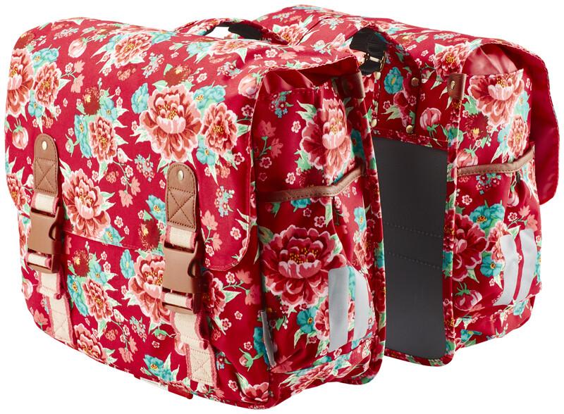 Bloom Doppeltasche scharlachrot 2017 Gepäckträgertaschen