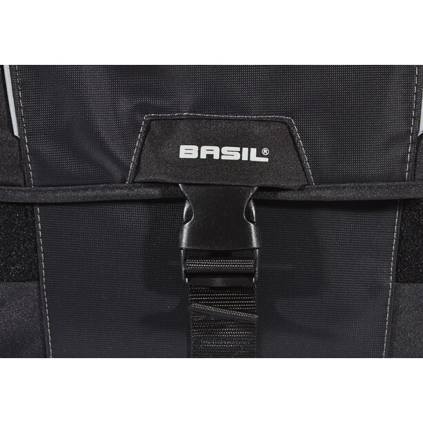 Basil Sport Design Dobbel veske 32l Svart
