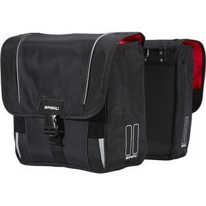 Basil Sport Design Doppel-Gepäckträgertasche 32l schwarz schwarz