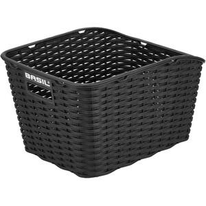 Basil Weave WP Rear Wheel Basket, sort sort