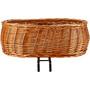 Basil Pluto Dog Bicycle Basket brun