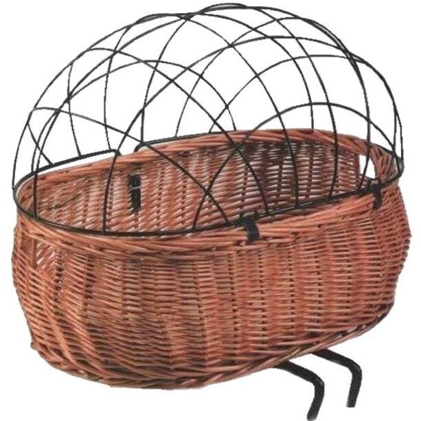 Basil Pluto Dog Bicycle Basket, natur