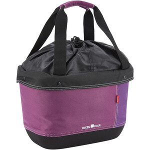 KlickFix Shopper Alingo Bike Bag Laukku, violetti violetti