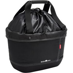 KlickFix Shopper Alingo Fahrradtasche schwarz schwarz