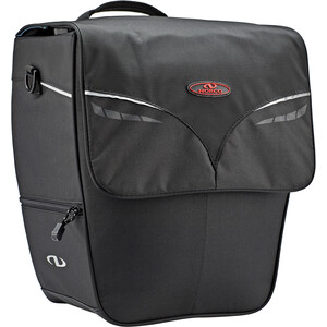 Norco Ohio City Shopper Gepäckträgertasche schwarz schwarz