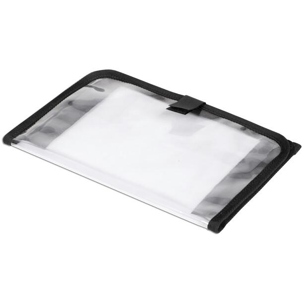 Norco Kartenfach mit Klettverschluss transparent