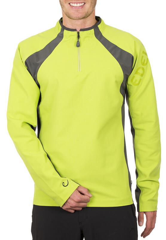 Edelrid Marwin Pullover Men chute green S 2014 Kletter Midlayer, Gr. S