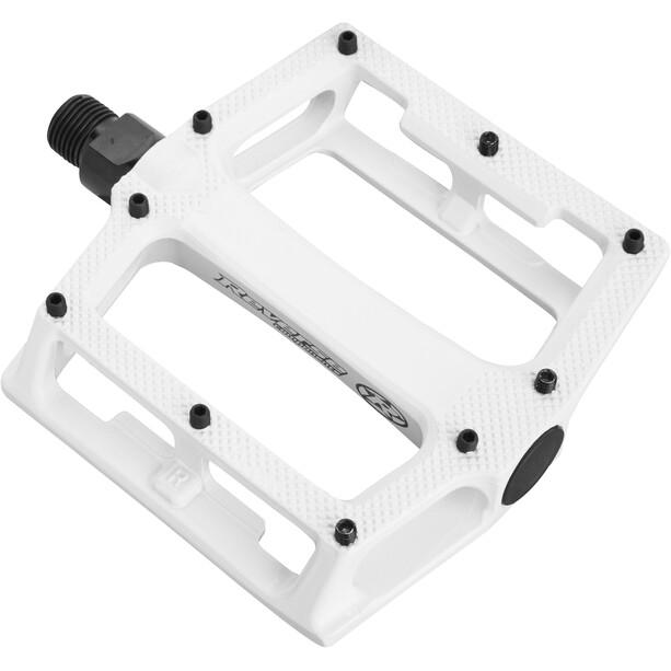 Reverse Super Shape 3D Pedals white