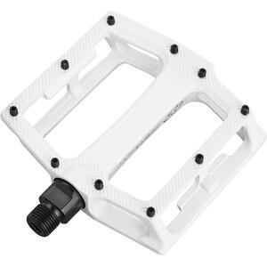 Reverse Super Shape 3D Pedals white white