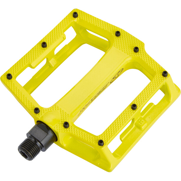 Reverse Super Shape 3D Pedals yellow