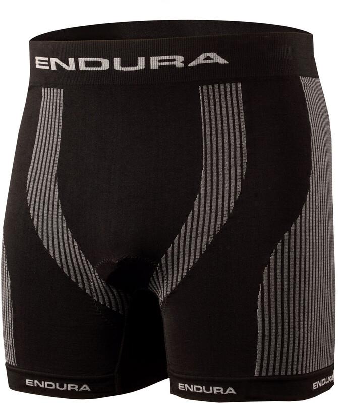 Endura Engineered padded 300 Series Boxer Men black S 2018 Unterwäsche, Gr. S