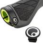 Ergon GS1 Griffe Dual Twist-Shift grau/schwarz