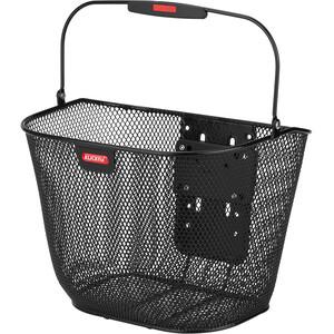 KlickFix Uni Plus Front Basket svart svart