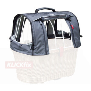 KlickFix Hood for Doggy Basket グレー