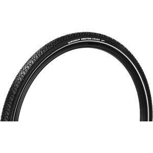 "Michelin Protek Cross Clincher Tyre 28"" Reflex svart svart"