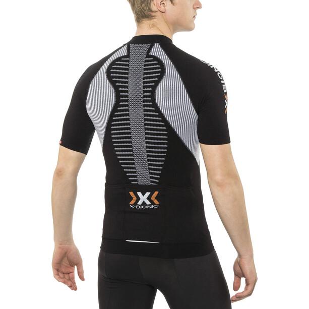 X-Bionic The Trick Biking Jersey SS Full-Zip Men black/white