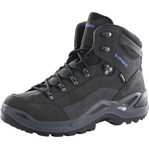 Lowa Renegade GTX Mid-Cut Schuhe Herren anthrazit/blau anthrazit/blau