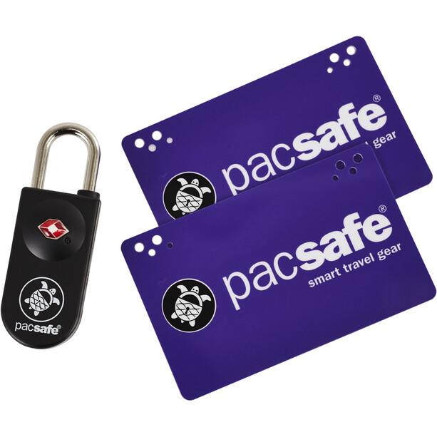 Pacsafe Prosafe 750 TSA Anerkanntes Schlüsselkarten-Schloss lila/schwarz