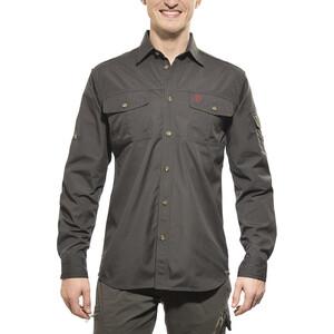 Fjällräven Sarek Trekking Shirt Herren dark grey dark grey