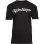 Troy Lee Designs Signature T-Shirt Herren black/white