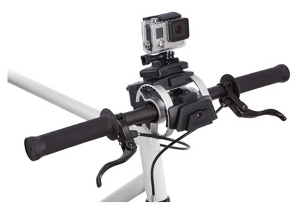 thule pack n pedal action cam halterung online kaufen. Black Bedroom Furniture Sets. Home Design Ideas