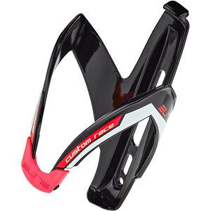 Elite Custom Race Bottle Holder black/glossy red black/glossy red