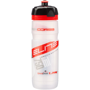Elite Super Corsa Trinkflasche 750ml transparent/rot transparent/rot
