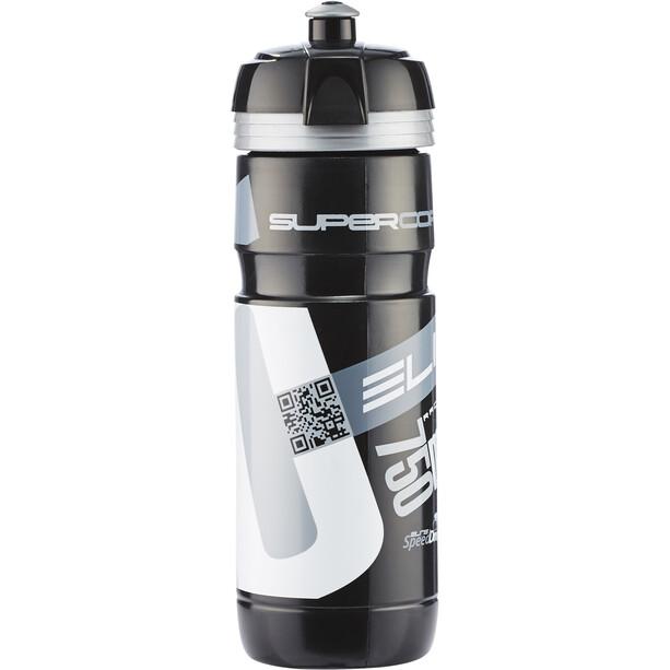 Elite Super Corsa Drinking Bottle 750ml black/silver