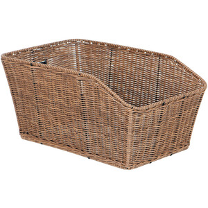 Unix Morino Panier fixe, finely woven brown finely woven brown