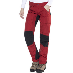 Lundhags Authentic Housut Regular Naiset, punainen punainen