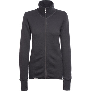 Woolpower 400 Full-Zip Jacke schwarz schwarz