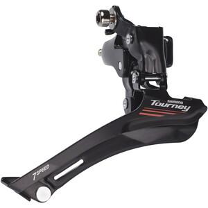 Shimano Tourney FD-A070 Umwerfer 2 x 7-fach schwarz schwarz