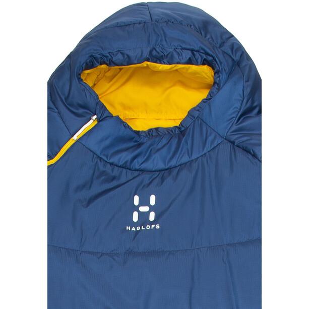 Haglöfs Tarius -5 Schlafsack 190cm hurricane blue