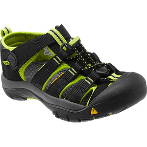 Keen Newport H2 Sandals Youth black/lime green black/lime green