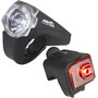 Red Cycling Products PRO 25 Lux Urban LED Lighting Set black