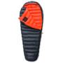 Yeti V.I.B. 250 Schlafsack M, Zip L black/red