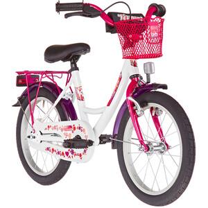 """Vermont Girly 16"""" Kinder weiß/pink weiß/pink"""