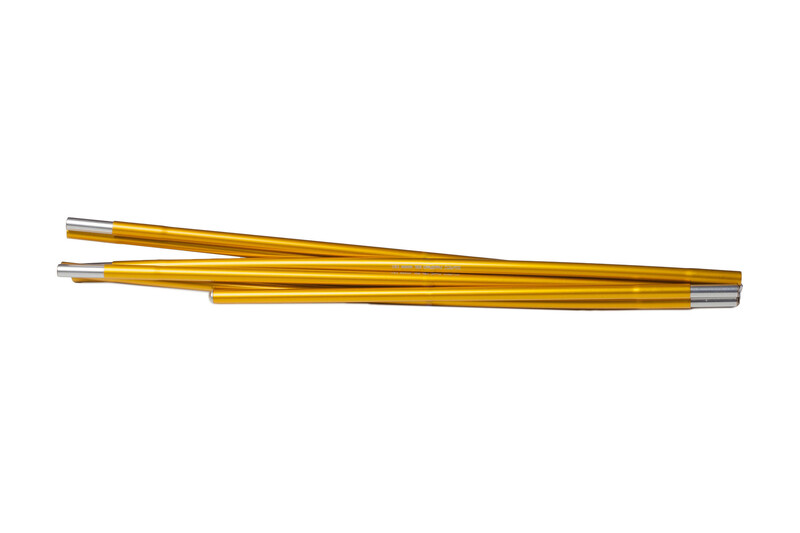 Hilleberg Allak/Niak Gestänge 370cm x 9mm gold Zeltstangen 317260