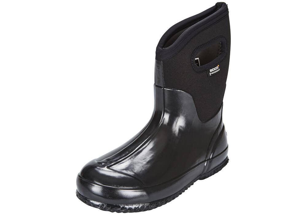 Bogs classic mid bottes noir sur for Bogs classic mid le jardin