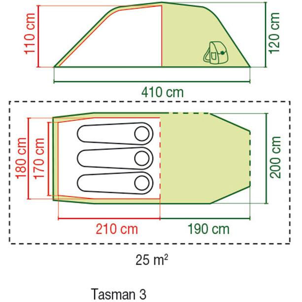 Coleman Tasman 3 Tente