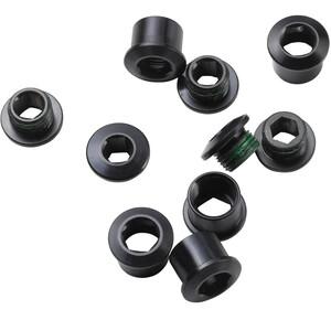 Truvativ Kettenblattschrauben 5 Stück Stahl schwarz schwarz