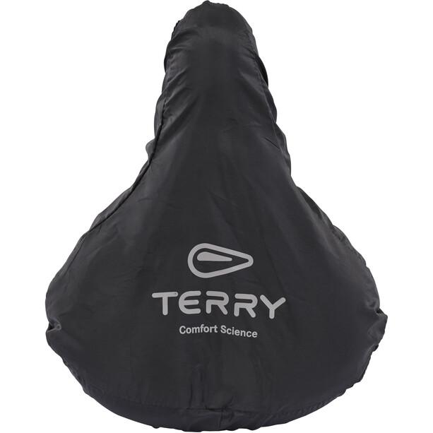 Terry City Regenhülle Large black