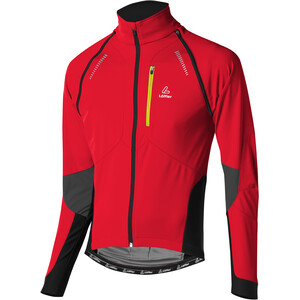 Löffler San Remo WS Softshell Zip-Off Fahrrad Jacke Herren rot rot