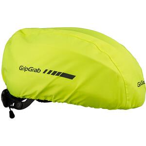 GripGrab Waterproof Hi-Vis Helmüberzug fluo yellow fluo yellow