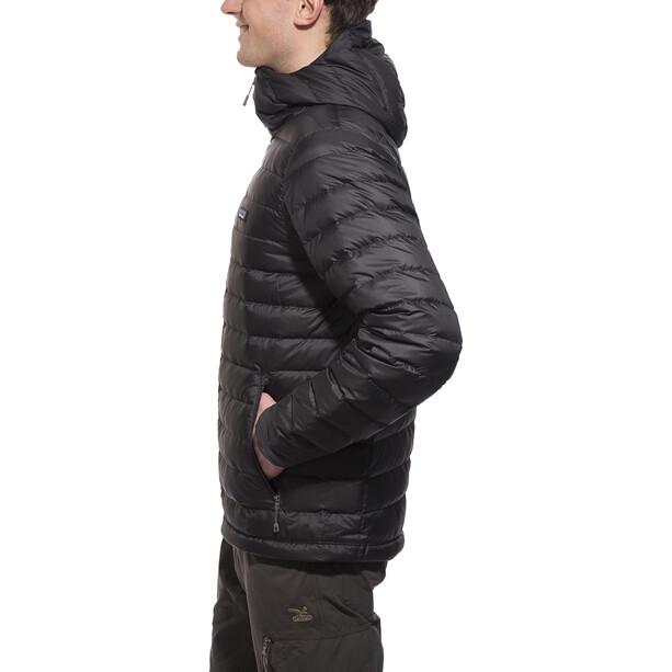 Patagonia Daunen Sweater Hoodie Herren black